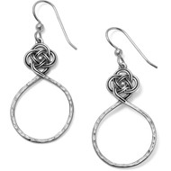Brighton Interok Petite  Circle Knot French Wire Earrings (JA4920)