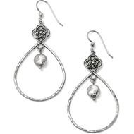 Brighton Interlok Knot Loop French Wire Earrings (JA4950)