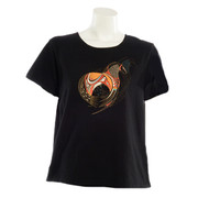 Sabaku Black Horse Midnight Short Sleeve Tee - Front