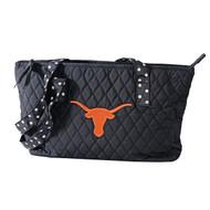Texas Longhorn Quilted Horizontal Zip Top Bag (33191203)