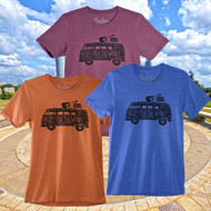 Keep Austin Weird Hippy Van Tee (3 Colors) (5991TSMR)