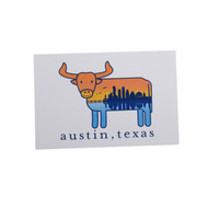 Austin the Hometown Steer Postcard ((6802-POSTCARD)