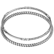 Brighton Neptune's Rings Rope Bangle Set (JF4270)