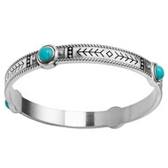 Brighton Southwest Dream Pueblo Bangle (JF6393)