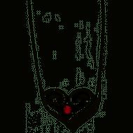 Brighton Alcazar Heart Ruby Necklace (JL576L)