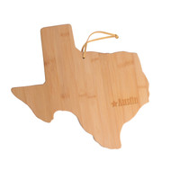 Texas/Austin Bamboo Cutting & Serving Board (20-7957TX)