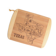 Slice of Texas Life Bamboo Cutting & Serving Board (20-6862)