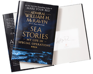 Sea Stories: My Life in Special Operations-Book (Bookplate Signed  by UT Grad Admiral McRaven)