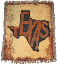 Texas Outline Throw (C-ATSTEX)