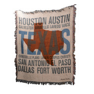 Texas Cities Throw (ATTXAS)