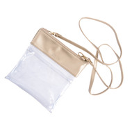 Clear Crossbody-Gold (R73-MLTGOLD)