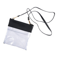 Clear Crossbody-Black (R73-BLACK)