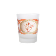 Texas Longhorn Vintage Bevo On the Rocks Glass (CP2057F)