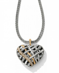 Brighton Neptune's Rings Convertible Heart Necklace (JL5903)