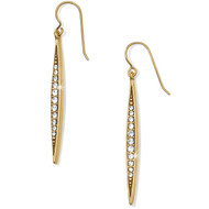 Brighton Contempo Gold Ice French Wire Earrings (JA1165)