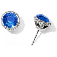 Brighton Iris Sapphire Stud Earrings (JA173B)