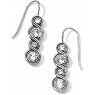 Brighton Infinity Sparkle French Wire Earrings (JA1831)