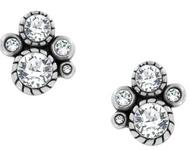 Brighton Halo Crystal Post Earrings (JA2281)