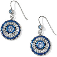 Brighton Halo Eclipse French Wire Earrrings (JA3623)