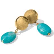 Brighton Mediterranean Turquoise Petite Post Earrings (JA4033)