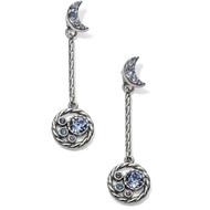 Brighton Halo Moon Convertible Post Drop Earrings (JA5063)