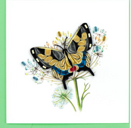 Quilling  Card-Swallowtail Butterfly