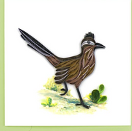Quilling Card-Road Runner