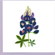 Quilling Card-Bluebonnets
