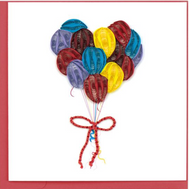 Quilling Card-Balloons