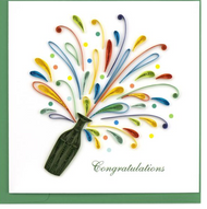 Quilling Card-Celebration