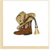 Quilling Card-Cowboy Toys