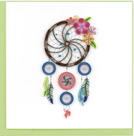 Quilling Card- Dream Catcher