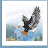 Quilling Card-Flying Eagle