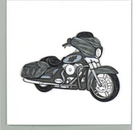 Quilling Card-Motorcycle