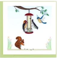 Quilling Card-Bird Feeder