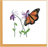 Quilling Card-Monarch Butterfly