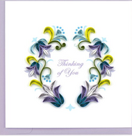 Quilling Card-Thinking of You
