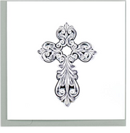 Quilling Card-Cross