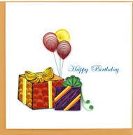 Quilling Card-Gifts & Balloons