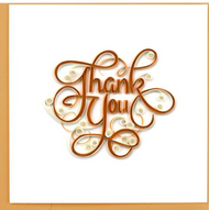 Quilling Card-Thank You