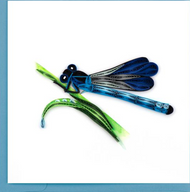 Quilling Card-Blue Damselfly