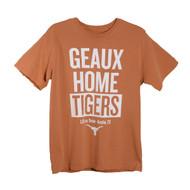 Texas Longhorn Geaux Home Tigers Tee (UT190250086)
