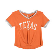 Texas Longhorn Channing Front Twist Tee (UT190220027)