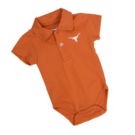 Texas Longhorn Infant Curt Polo Onesie (10001092)