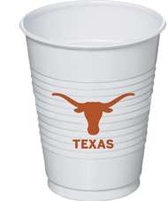 Texas Longhorn Beverage Cup (16 oz) (8 Count) (37633)