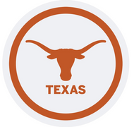 """Texas Longhorn 7"""" Paper Plates (12 Count) (37547)"""