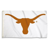 Texas Longhorn White Logo Flag (3 X 5) 35134
