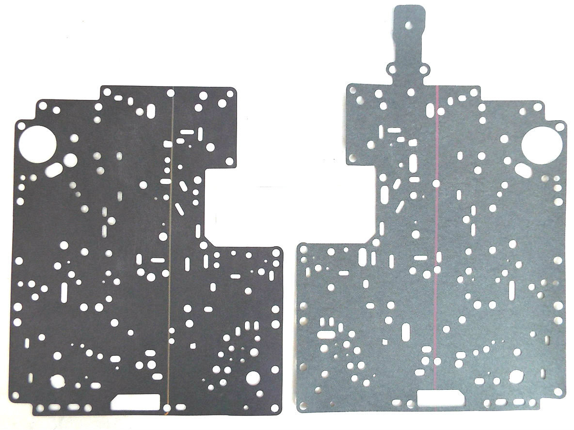 E4OD Upper & Lower Valve Body Separator Plate Gasket Set (1989-1995)