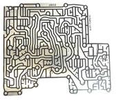 6R60|6R75|6R80 Bonded Valve Body Plate Assembly (2006-2008) 6L2Z-7Z490-B