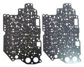 4F27E Valve Body Spacer Plate Upper & Lower Gasket Set (1999-2009) High Quality Transmission Parts at Global Transmission Parts!